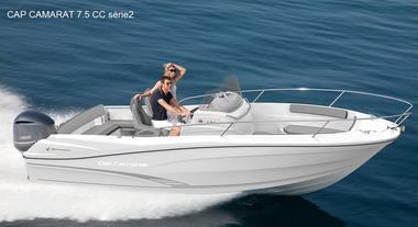 Location bateau moteur Vendée St Gilles Croix de Vie Cap Camarat 7.5cc série2