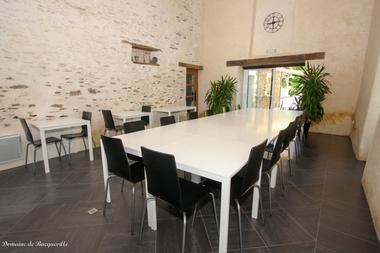 Salle commune Prince Noir3  - Domaine de Bacqueville