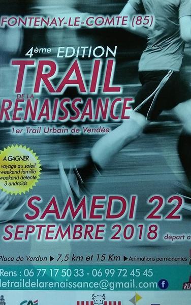 affiche trail 2018