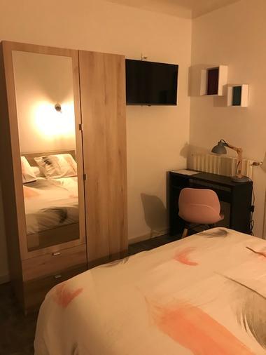 chambre_HOTEL_LA_FORET_Saint Hilaire de Riez