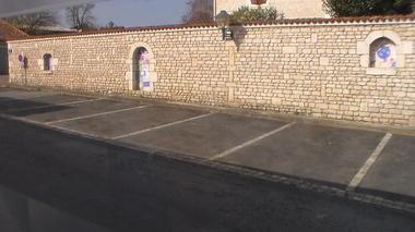 parking à coté