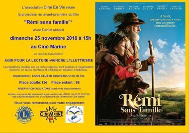 remi sans famille - Lion's club