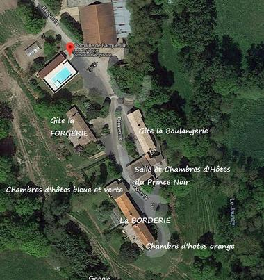 vue du Ciel - Domaine de Bacqueville