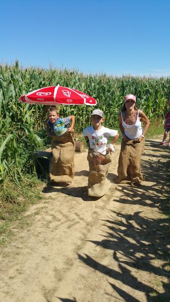 Parc de loisirs- Vendée-Labyrinthe en délire