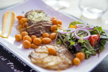 plat menu - restaurant - camping l'océan