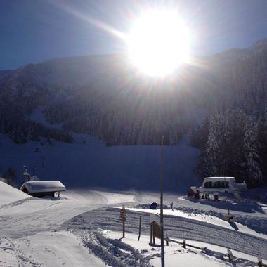 pied de pistes station de ski Ascou