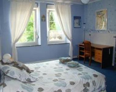 chambre lotus Bleu