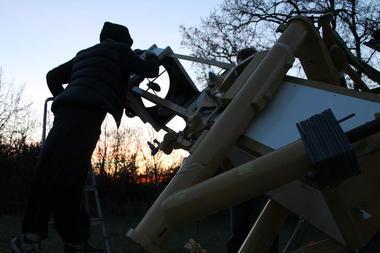 observation au telescope