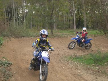 Séjour enfant - Evolution moto