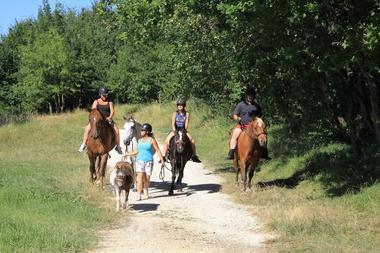La colline au chevaux - Coutures