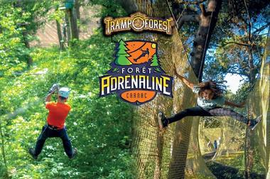 Parc Aventure FORET ADRENALINE - Carnac