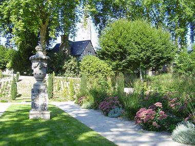 parc du château de Josselin