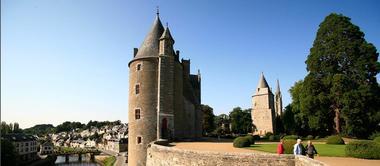 Château et parc de Josselin - Morbihan Bretagne Sud