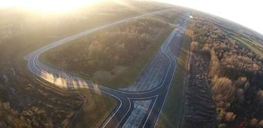 la piste big drone