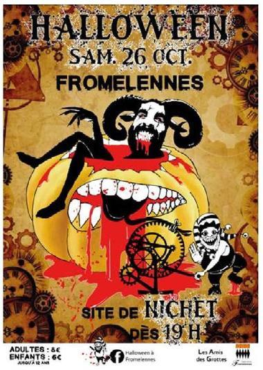 Halloween à Fromelennes