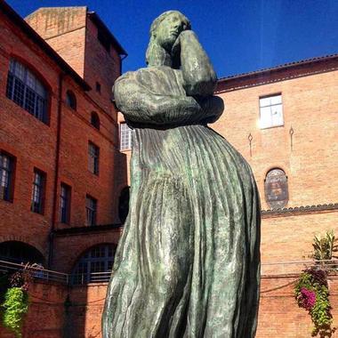 Pénélope - Antoine Bourdelle - Sculpture Montauban Tarn-et-Garonne