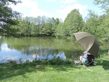 étang pour la pêche