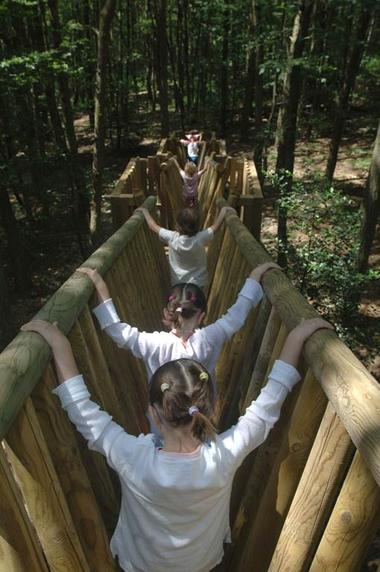 Les sentiers-jeux en forêt