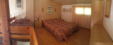 appartement 4 personnes à ax 3 domaines - chambre