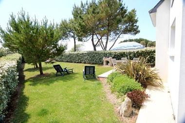 """Clévacances - Meublé 56MS0195 - """"La Maison de l'Océan avec vue sur les dunes et l'Océan"""" - Erdeven - Morbihan Bretagne Sud"""