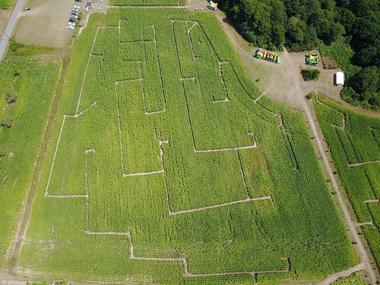 parc-labyrinthe ker ar C'Hoari Guidel-Lorient-Morbihan-Bretagne sud