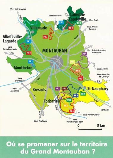 Guide des promenades et randonnées du Grand Montauban