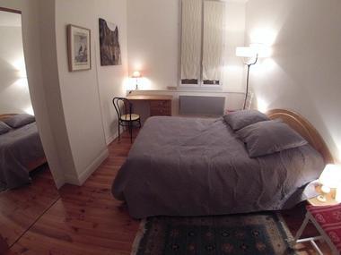 appartement 4 personnes à ax les thermes - chambre