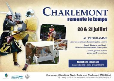 Charlemont remonte le temps