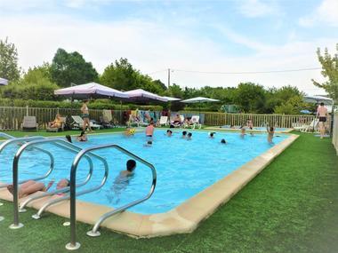Camping Le Clos Lalande - Piscine 1