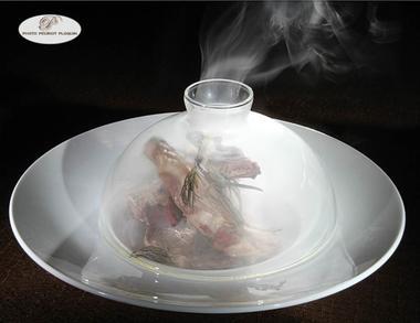 Agneau fumé de l'Auberge de la Castille
