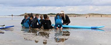 Blue Dream Surf School ERDEVEN Morbihan BRETAGNE SUD