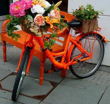 Vélos fleuris