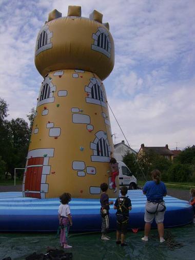 Base de loisirs de l'ASPSCA - la tour d'escalade