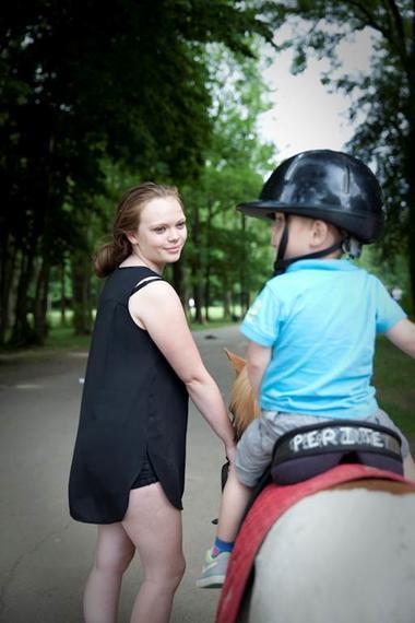 Balade en poney - Parc d'Olhain  © Brigitte Baudesson