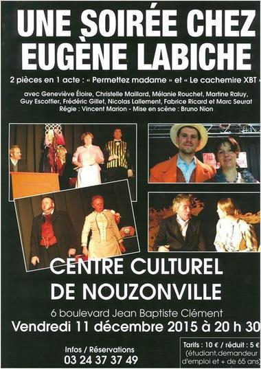 Théâtre une soirée chez Labiche