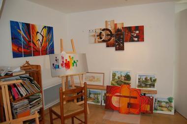 Atelier Peinture de Nathalie GIOT