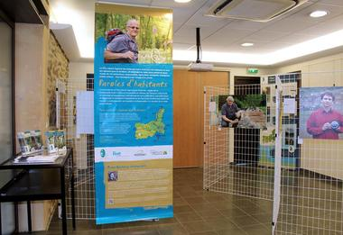 "Exposition ""Paroles d'habitants du Parc"""