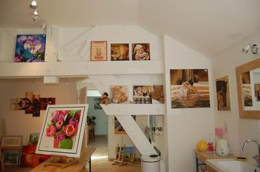 Atelier peinture Nathalie GIOT