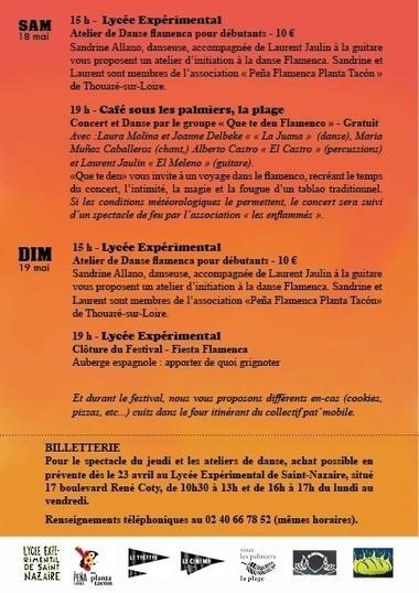 Programme Flamenco Verso