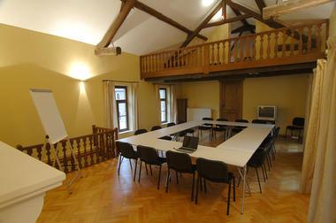Hôtel-Ferme du Château d'Ahin - Ben-Ahin - Salle de réunion