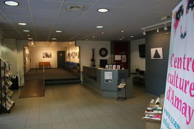 Amay - Centre culturel - Hall d'entrée