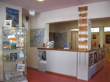 Point-info Vanoise de Modane.
