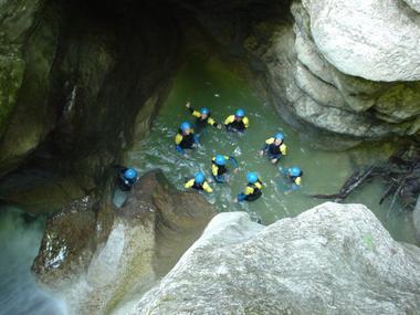 Canyoning Balme