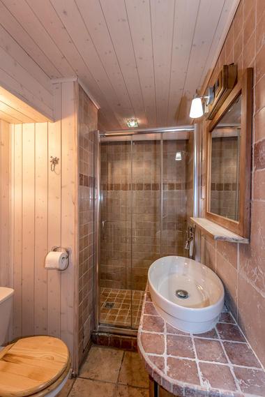 Chalet Super Rochebrune salle de douche