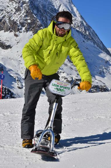 Snowscoot Aussois