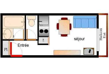 Setives - Studio 2 personnes - SET068M