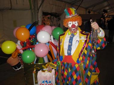 Foire Sainte Barbe  clown
