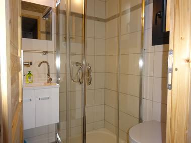 Salle d'eau Meublé Mme BONTHOUX. ML Location St Jean St Nicolas