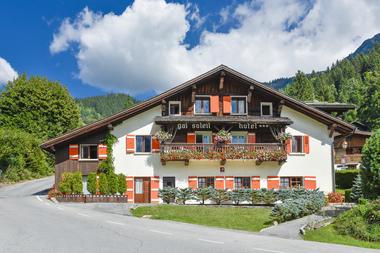 L'hôtel en été