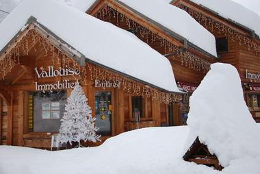 Notre agence en hiver